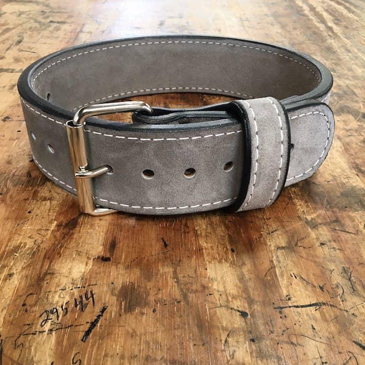 2.5 Bench Belt Double Suede