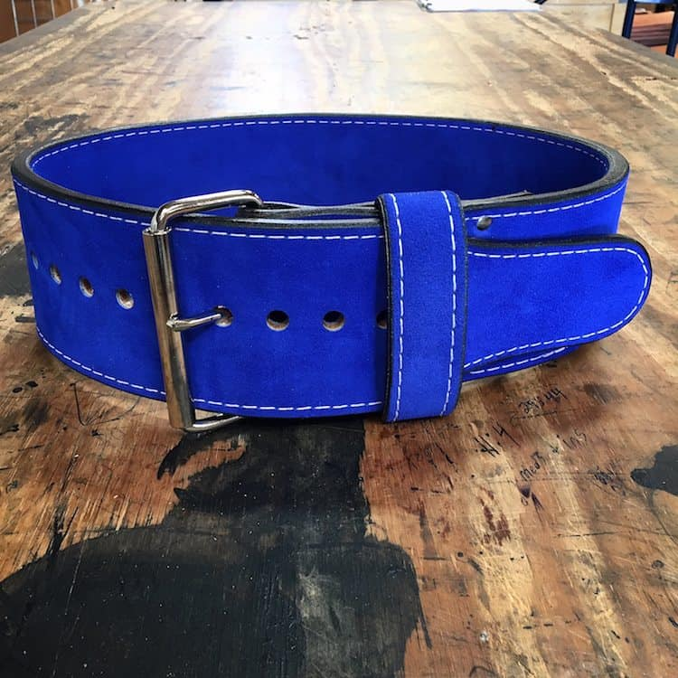 10mm Power Belt Royal Blue