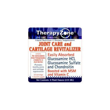 Liquid Glucosamine and Chondroitin by TherapyZone