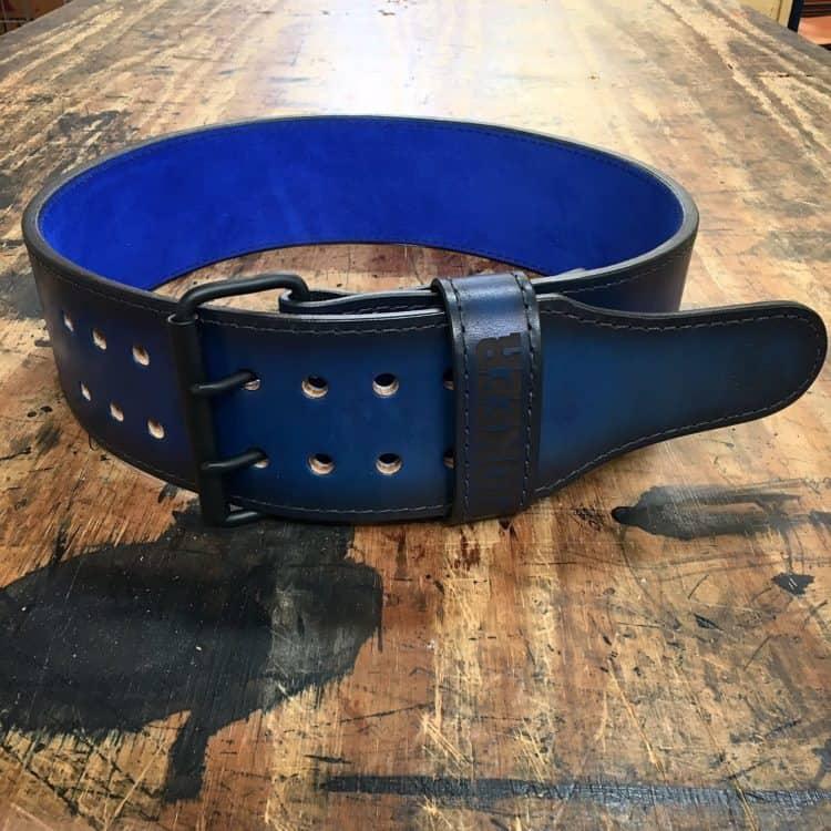 Dyed Blue Power Belt