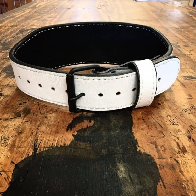Pioneer White Training Belt