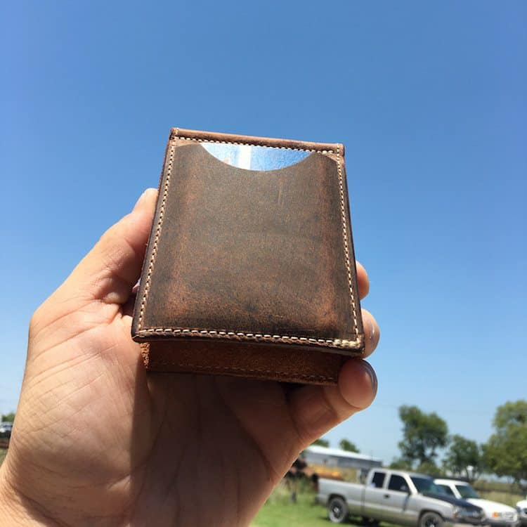 Water Buffalo Exotic Wallet by Pioneer