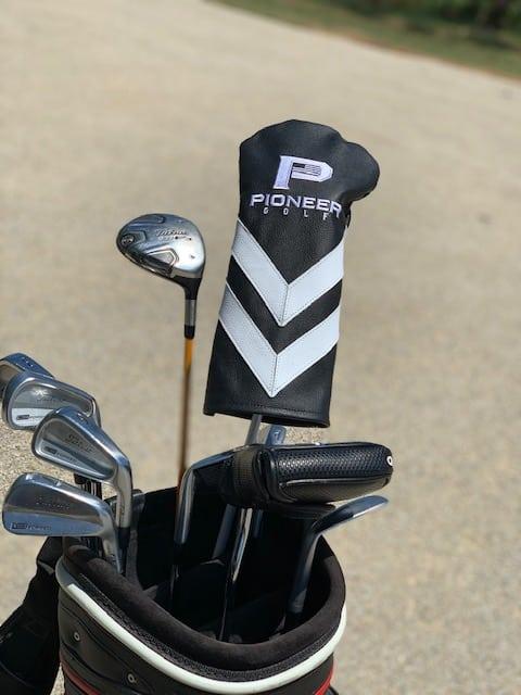 Pioneer Golf Club Covers- Angled Stripes
